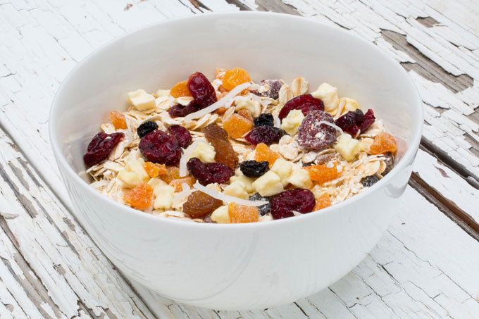 fruit & coconut natural muesli