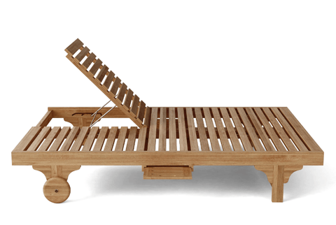 Anderson Teak ANDERSON TEAK Bel-Air Double Back Lounger 2-Pieces Set Seating
