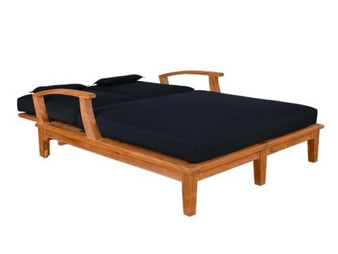 Anderson Teak ANDERSON TEAK Brianna Double Sun Lounger Seating