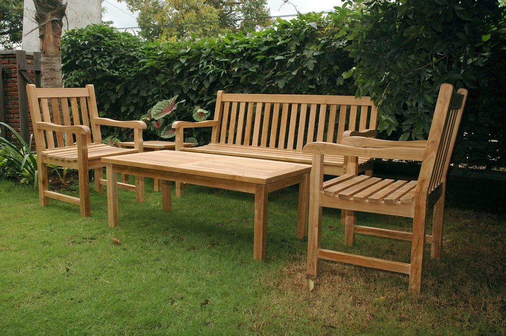 Anderson Teak ANDERSON TEAK Classic 3-Seater 5-Pieces Conversation Set Seating