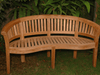Image of Anderson Teak ANDERSON TEAK Curve 3-Seater Extra Thick Bench Seating