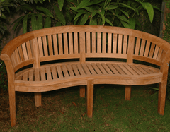 ANDERSON TEAK Curve 3-Seater Extra Thick Bench