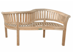 ANDERSON TEAK Curve Love Seat Bench
