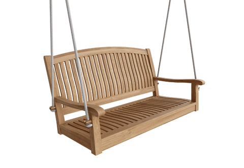 "Anderson Teak ANDERSON TEAK Del-Amo 48"" Round Swing Bench Seating"