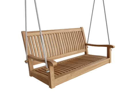 "Anderson Teak ANDERSON TEAK Del-Amo 48"" Straight Swing Bench Seating"