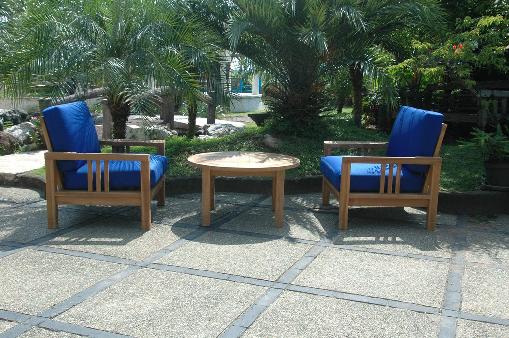 Anderson Teak ANDERSON TEAK SouthBay Deep Seating 3-Pieces Conversation Set Seating