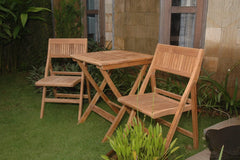 ANDERSON TEAK Windsor 3-pieces Square Bistro Set