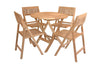 Image of Anderson Teak ANDERSON TEAK Windsor 5-pieces Round Bistro Set Dining