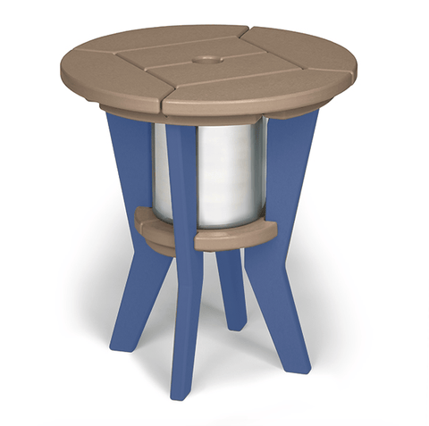 Breezesta BREEZESTA Chill Beverage Side Table Colonial Blue Dining