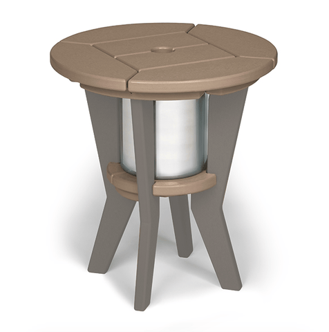 Breezesta BREEZESTA Chill Beverage Side Table Gray Dining