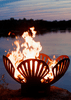 Image of Fire Pit Art FIRE PIT ART Barefoot Beachcomber Wood Burning Outdoor Warmer