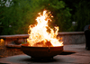 Image of Fire Pit Art FIRE PIT ART Emperor Wood Burning Outdoor Warmer