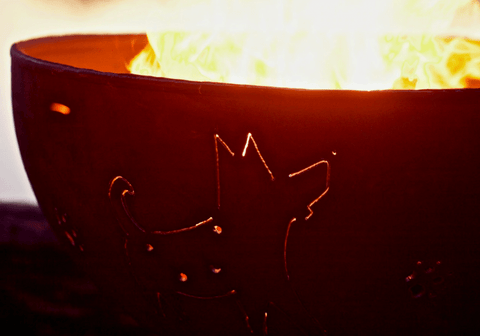 Fire Pit Art FIRE PIT ART Funky Dog Outdoor Warmer