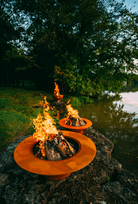 Fire Pit Art FIRE PIT ART Magnum Wood Burning Outdoor Warmer