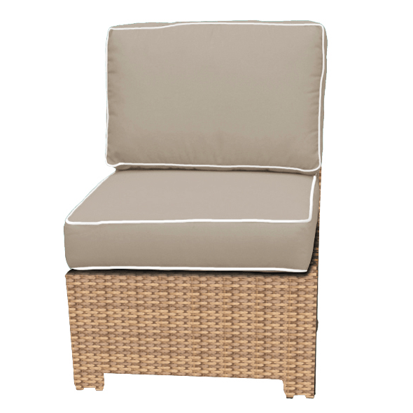 Forever Patio FOREVER PATIO Barbados Sectional Middle Chair Seating