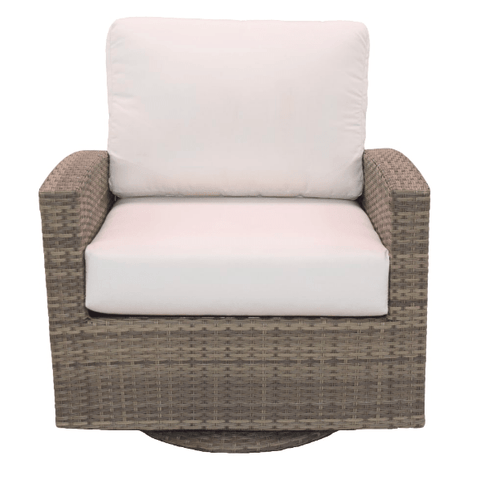 Forever Patio FOREVER PATIO Barbados Swivel Glider Club Chair Seating