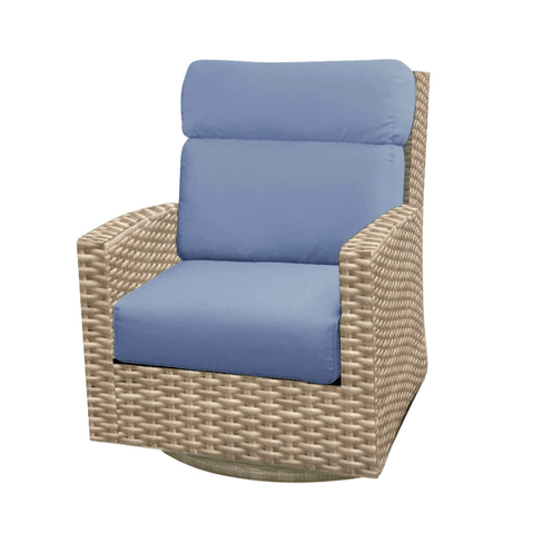 Forever Patio FOREVER PATIO Cavalier High Back Swivel Rocker Chair Seating