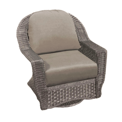 Forever Patio FOREVER PATIO Traverse Swivel Glider Canvas Navy Seating