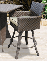 "Image of FOREVER PATIO Universal 25"" Counter Height Swivel Stool"