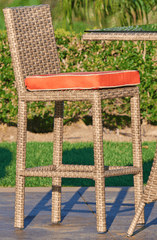 "Image of FOREVER PATIO Universal 30"" Armless Bar Stool"