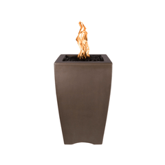 OUTDOOR PLUS OUTDOOR PLUS Baston Pillar Fire Pit No / Match Lit / Chocolate Fire Pits
