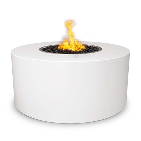 OUTDOOR PLUS OUTDOOR PLUS Beverly Powder Coated Fire Pits Match Lit / 30 / White Fire Pits