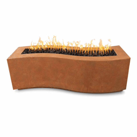 OUTDOOR PLUS OUTDOOR PLUS Billow Collection Fire Pits Corten / 60 / Match Lit Fire Pits