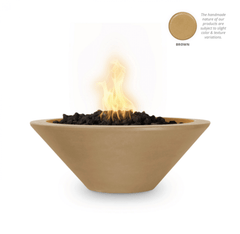 OUTDOOR PLUS Cazo Concrete Fire Bowl