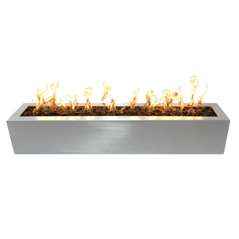 OUTDOOR PLUS OUTDOOR PLUS Eaves Stainless Steel Fire Pit 48 / Match Lit / Stainless Steel Fire Pits