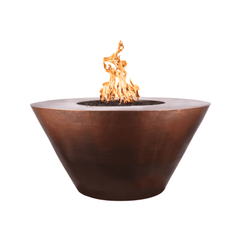 OUTDOOR PLUS OUTDOOR PLUS Martillo Fire Pit 48 / Match Lit / Hammered Copper Fire Pits