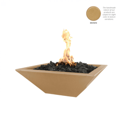OUTDOOR PLUS Maya Concrete Fire Bowl