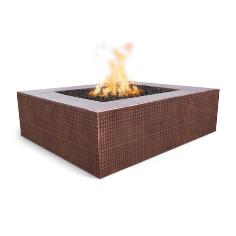 OUTDOOR PLUS OUTDOOR PLUS Quad Copper Fire Pit 36 / Match Lit / Hammered Copper Fire Pits