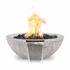 Image of OUTDOOR PLUS OUTDOOR PLUS Sedona Wood Grain Fire & Water Bowl Fire & Water Bowl