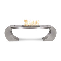 OUTDOOR PLUS OUTDOOR PLUS Vernon Fire Pit 60 / Match Lit / Stainless steel Fire Pits