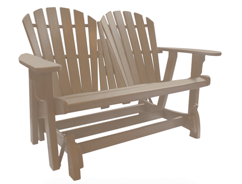 Patio Furniture Land Coastal Double Glider Seating
