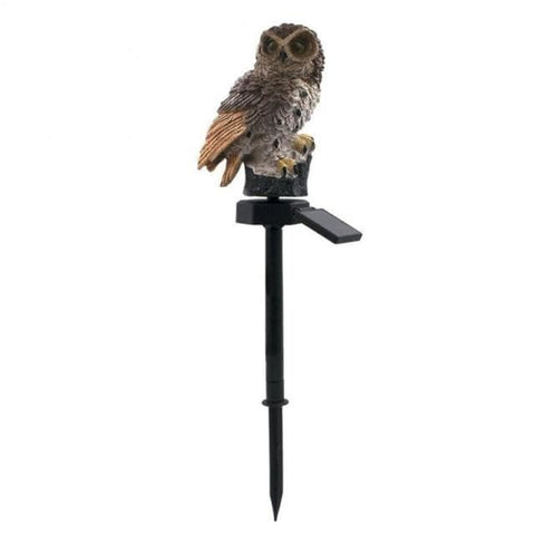 Patio Furniture Land Garden Owl Solar Light 02 / China Outdoor Lighting