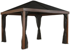 Sojag Valencia Wood Finish 12 x 12 ft. Gazebo 500-9166606