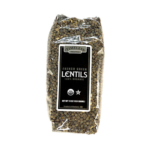 Organic French Green Lentils DU-PUY 16-oz