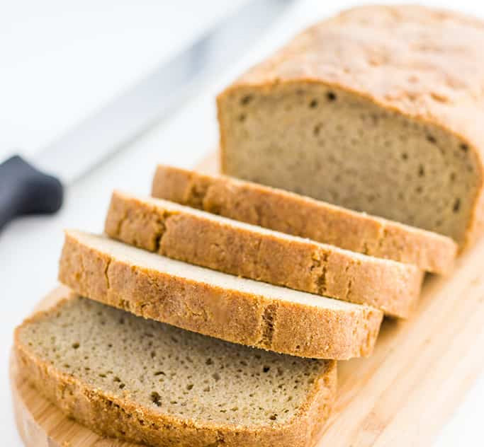 Almond Flour Loaf Bread