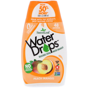 Water Drops Peach Mango