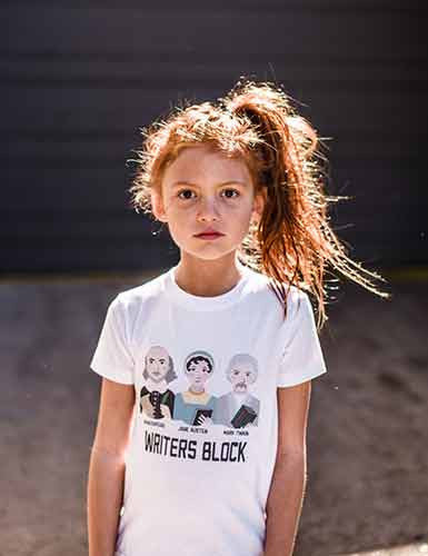 Writers Block T-shirt