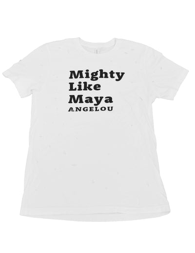 Adult Mighty Like Maya Angelou T-shirt