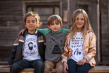 Choose Your Own Adventure Kids Raglan