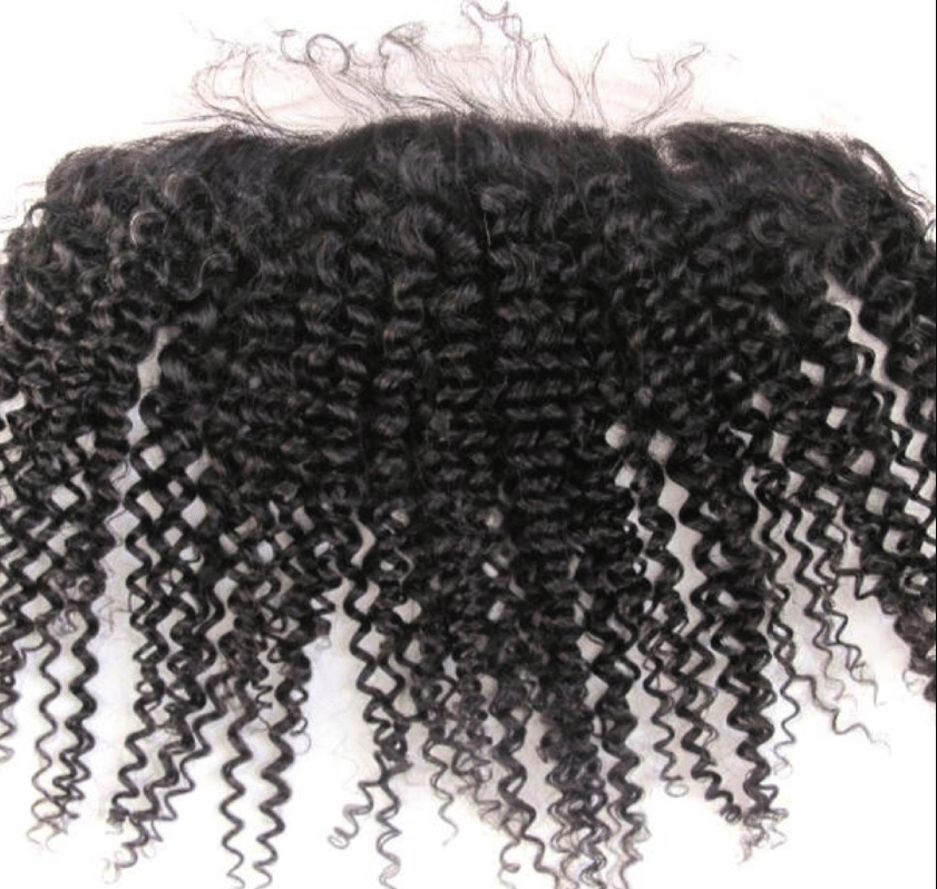 Lace frontal Curly de 14