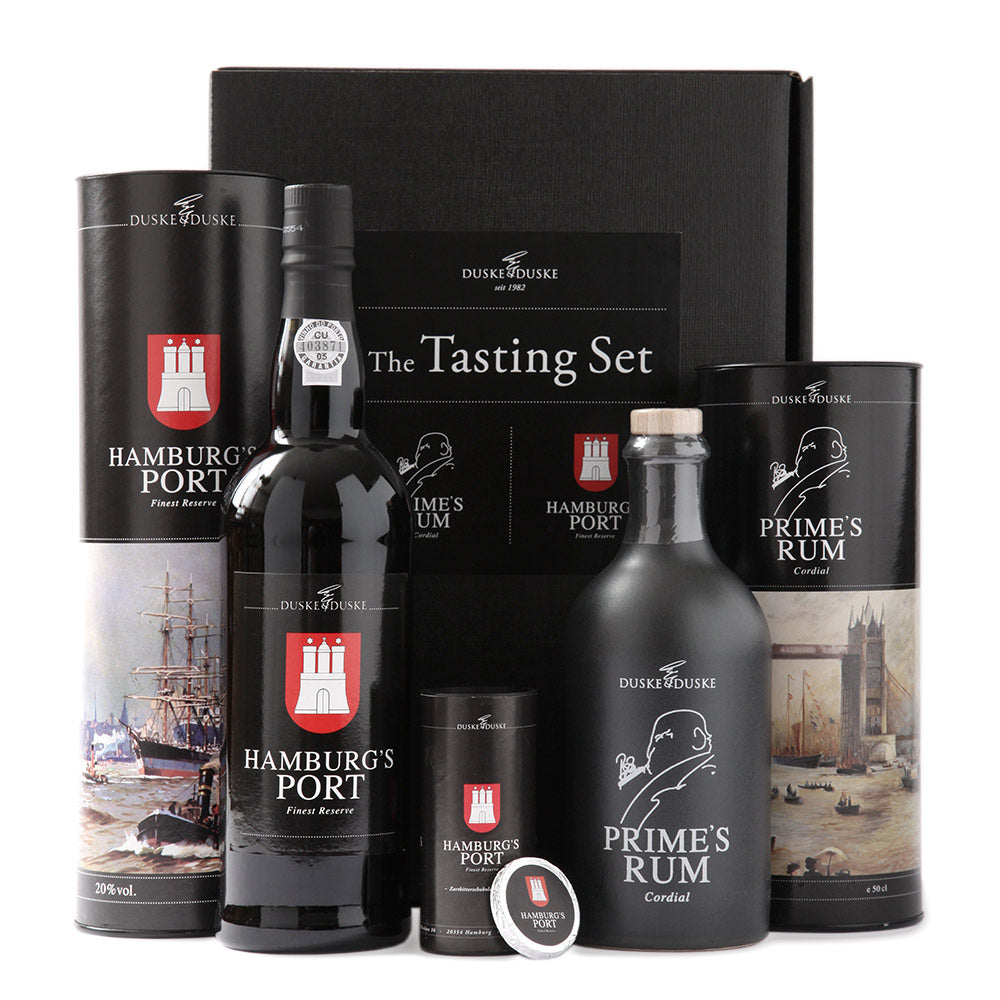 The Tasting Set Hamburg's Port und Prime's Rum