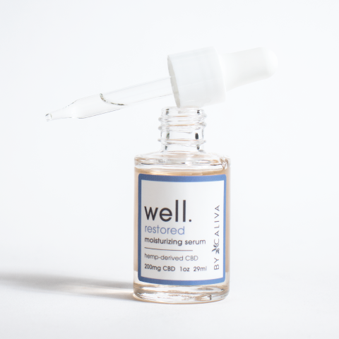 Well by Caliva Serum Bottle