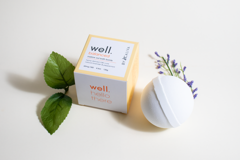 Well by Caliva Bath bombs