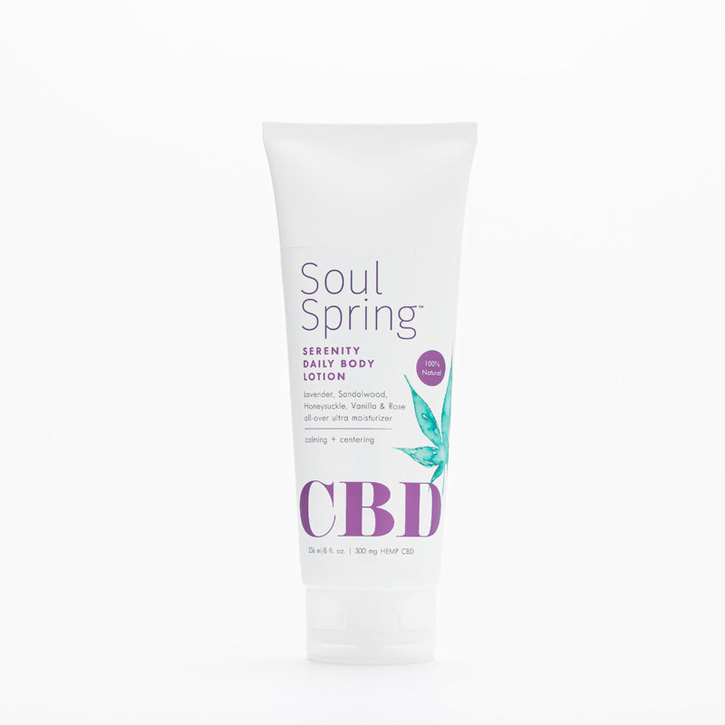 Serenity CBD Daily Body Lotion