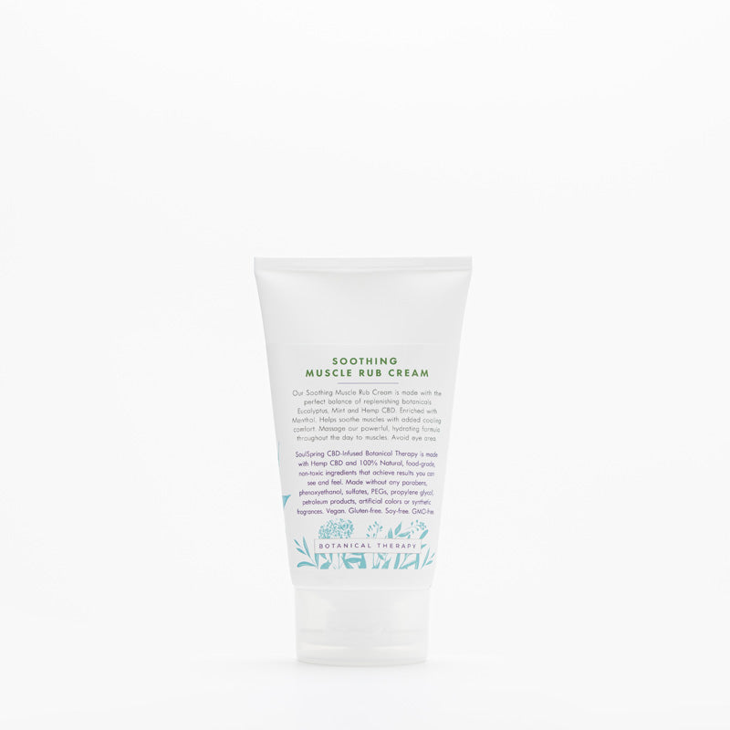 Soothing CBD Muscle Rub Cream