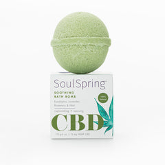 Soothing CBD Bath Bomb
